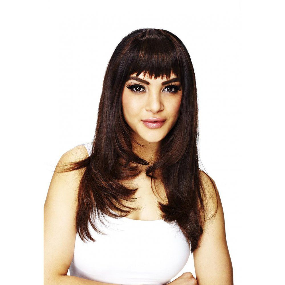 Clipin Fringes Online UK Hair Couture Sleek Sleeklookcouk- ponytail hairstyles with fringe side ...