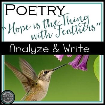 hope is the thing with feathers emily dickinson analysis