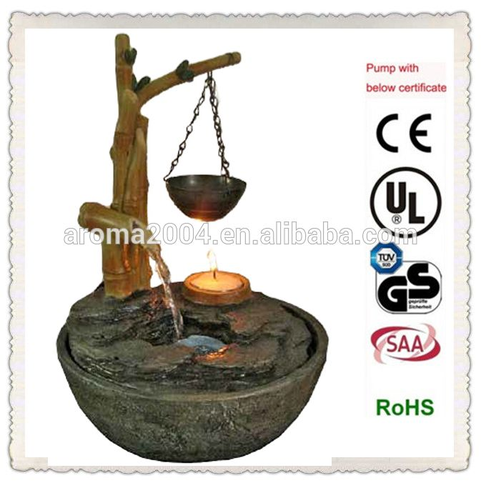 New Style Craft incense burner waterfall Bamboo Fountain, View Bamboo Fountain, AROMA Product Details from Xiamen Aroma Trade Co., Limited on Alibaba.com