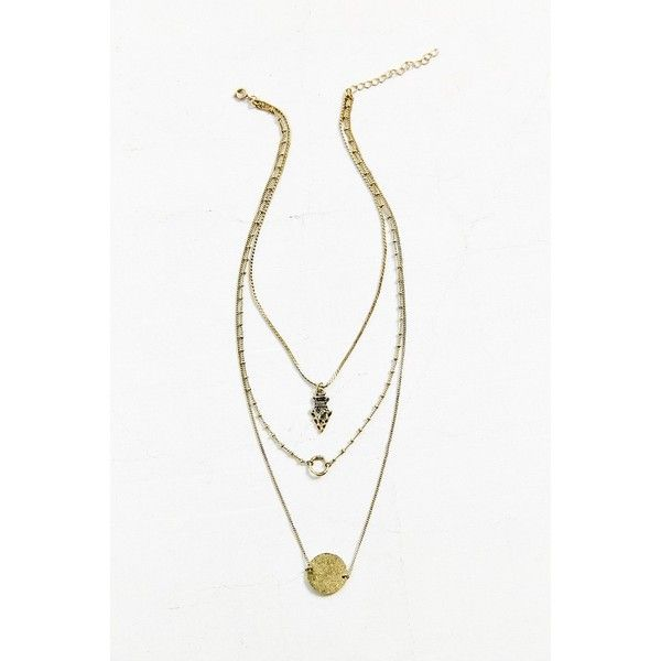Collective Charms Layer Necklace ($24) ❤ liked on Polyvore