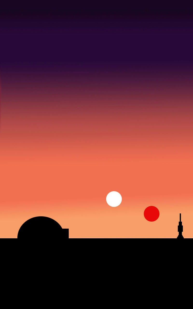 Twin Suns of Tatooine by @spacegaysbabey