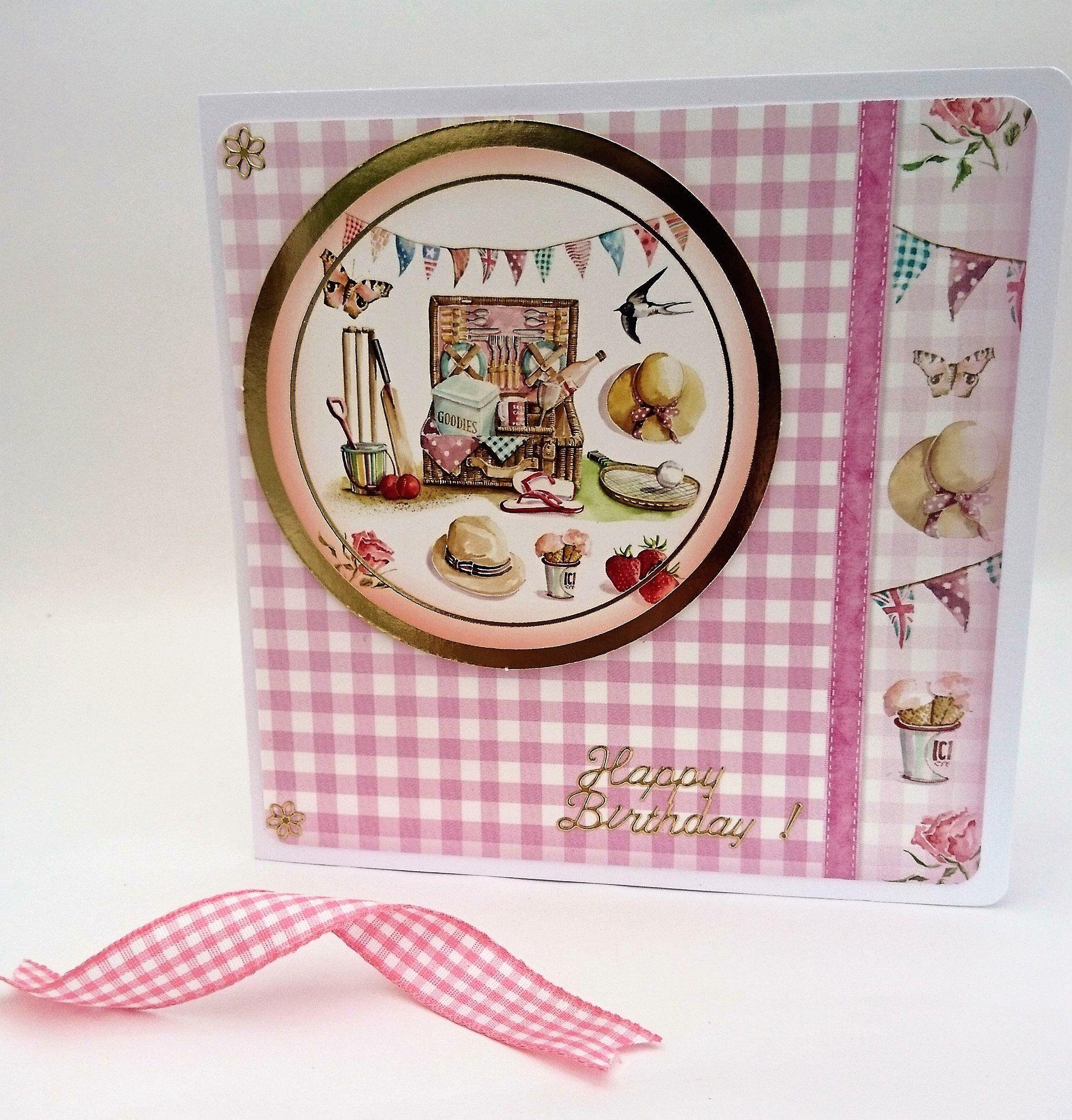 Birthday Card, Happy Birthday,Handmade in Scotland. FREE P