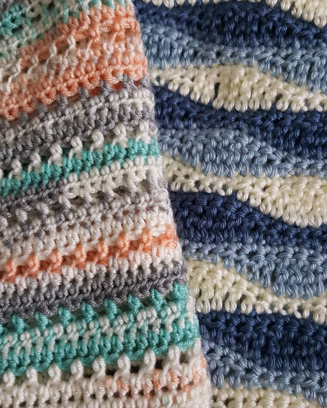 """Sheilagh on Instagram: """"I\'ve got 2 baby blankets in my current wip ..."""