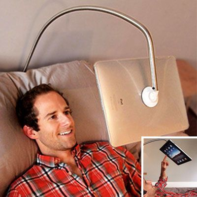 Bed Ipad Holder $79.99 hands free ipad holder | cool people shop | apple