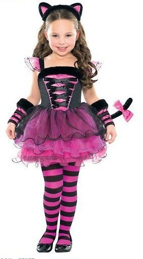 af82cf8604cd Purrfect Ballerina Kitty Cat Catarina Child Halloween Costume Size ...