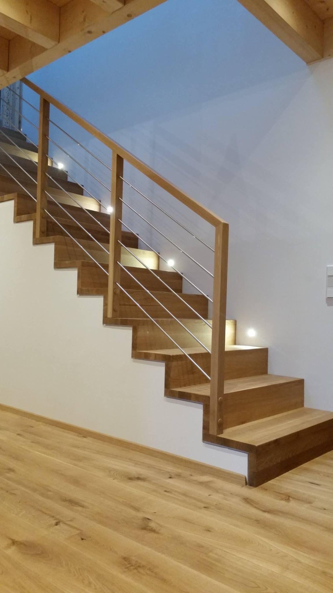 Stufen Auf Betonkern   Das Original   Direkt Vom Hersteller Unnerstall  Treppen #treppe #holztreppe