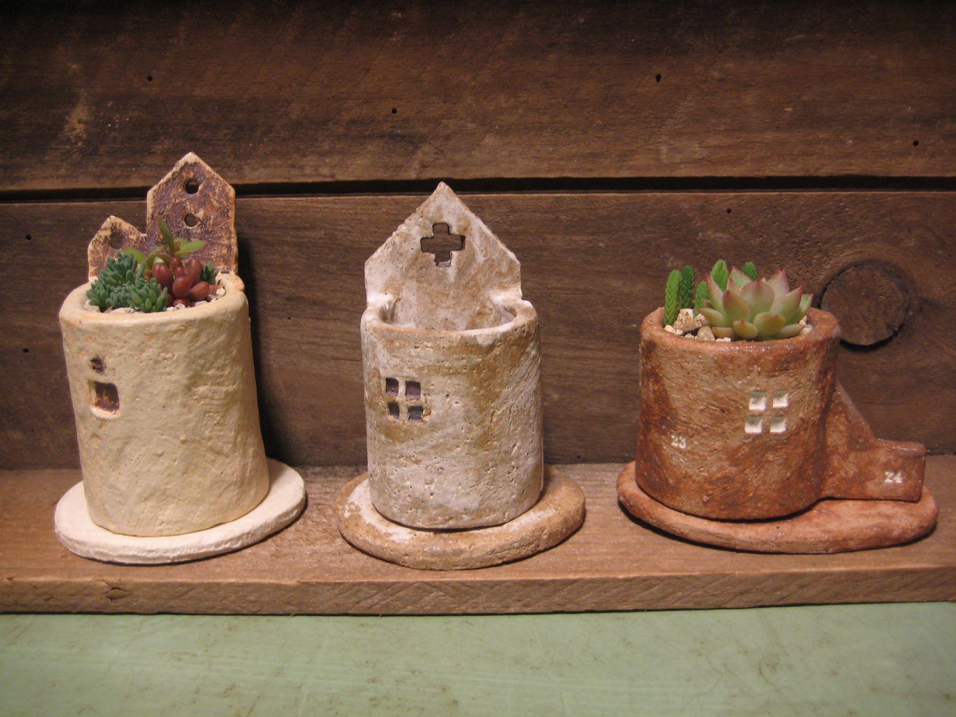 おうち植木鉢と多肉植物 ちくちくつくる ー手作りいろいろー