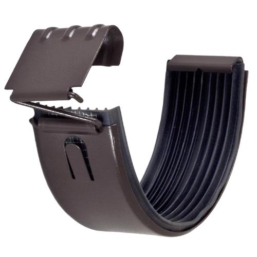 Painted Half Round Gutter Connectors By Zambelli Rapidmaterials Gutter Gutters Gutter Sizes
