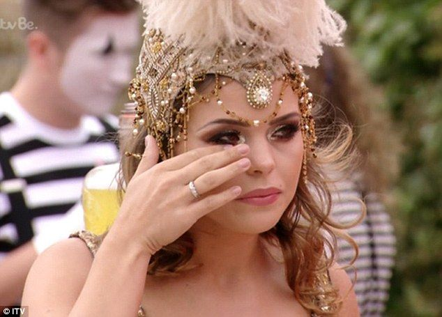 Tears and truths: During the emotional TOWIE series finale on Wednesday night…