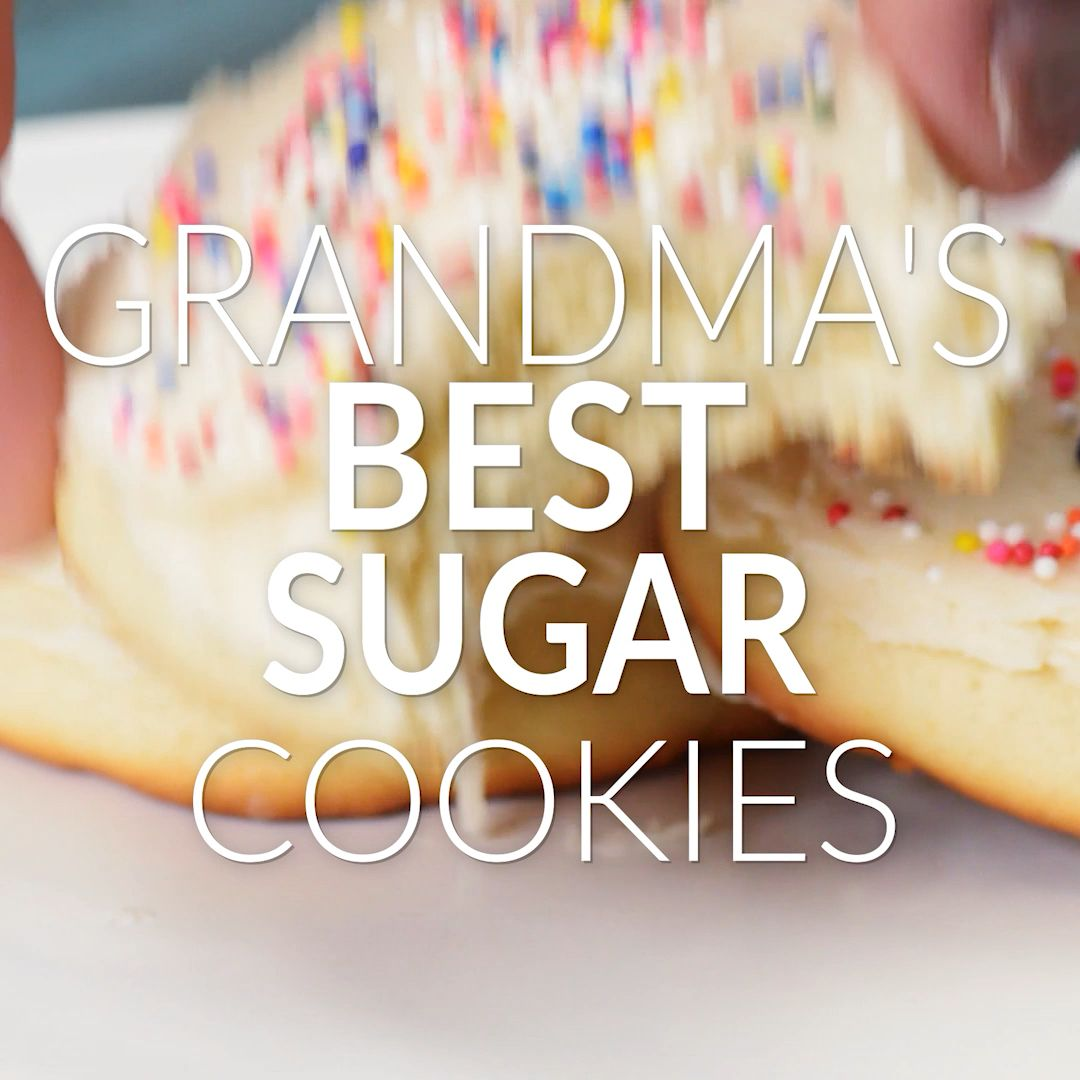 Grandma's Best Sugar Cookies