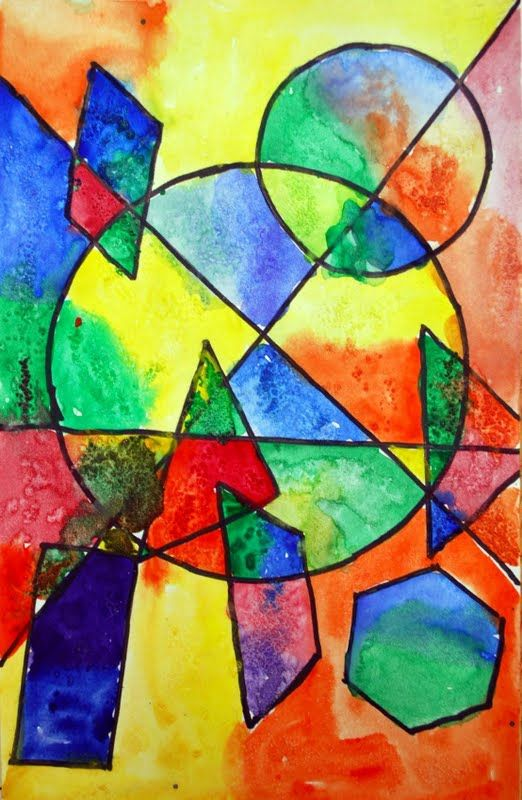 Shapes Painting Art