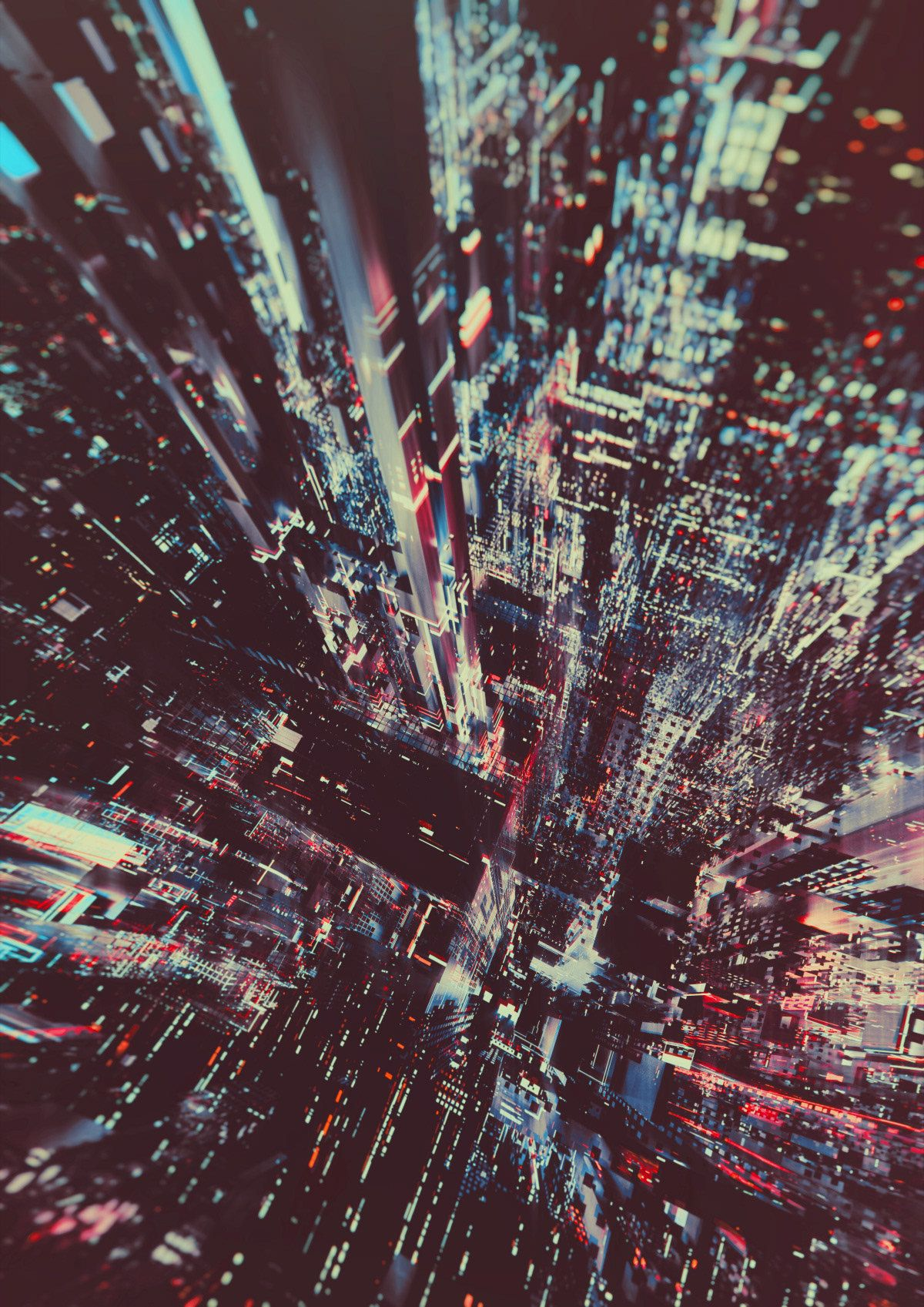 The City Never Sleeps Atelier Olschinsky City Lights City Photo