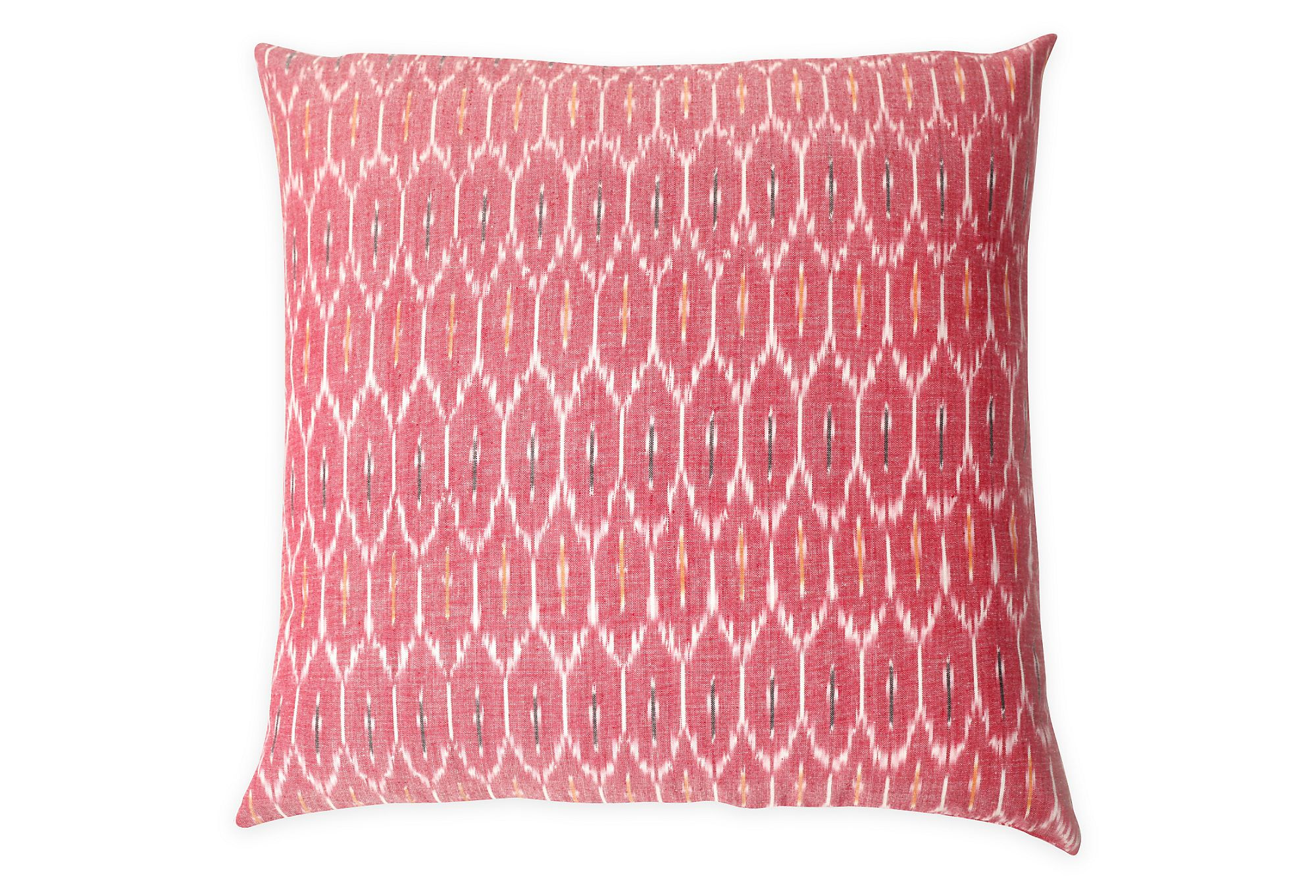 Chantel 20x20 Cotton Pillow, Pink | Summer Refresh | One Kings Lane
