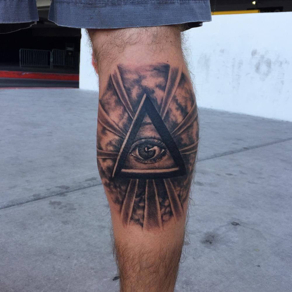 Pyramid Eye Tattoo: Tattoos, All Seeing Eye Tattoo, H Tattoo