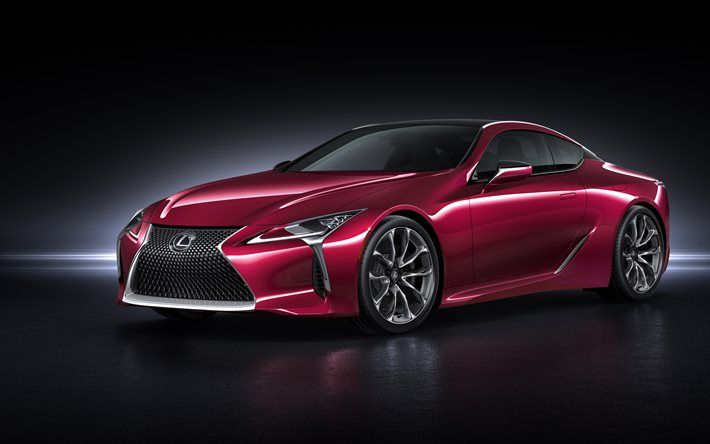 Lexus LC Coupe K Cars Supercars Red Lexus Cars - Sports cars 5k