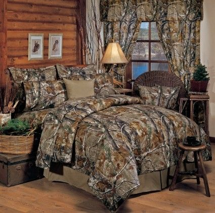 Realtree Camouflage Bedding Apg Hd All Purpose Grey