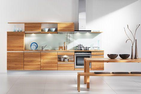High Grade Wood Kitchen By Team 7   The Linee Kitchen