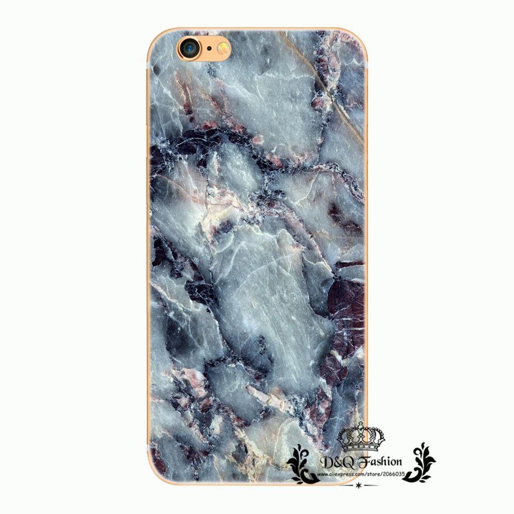 For iPhone 6S Case Back Cover Hard shell Marble Stone Image Painted For iPhone6 6s Phone Bags For iPhone 6 Celular