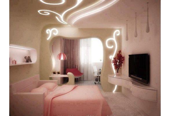 Neon Pink bedroom