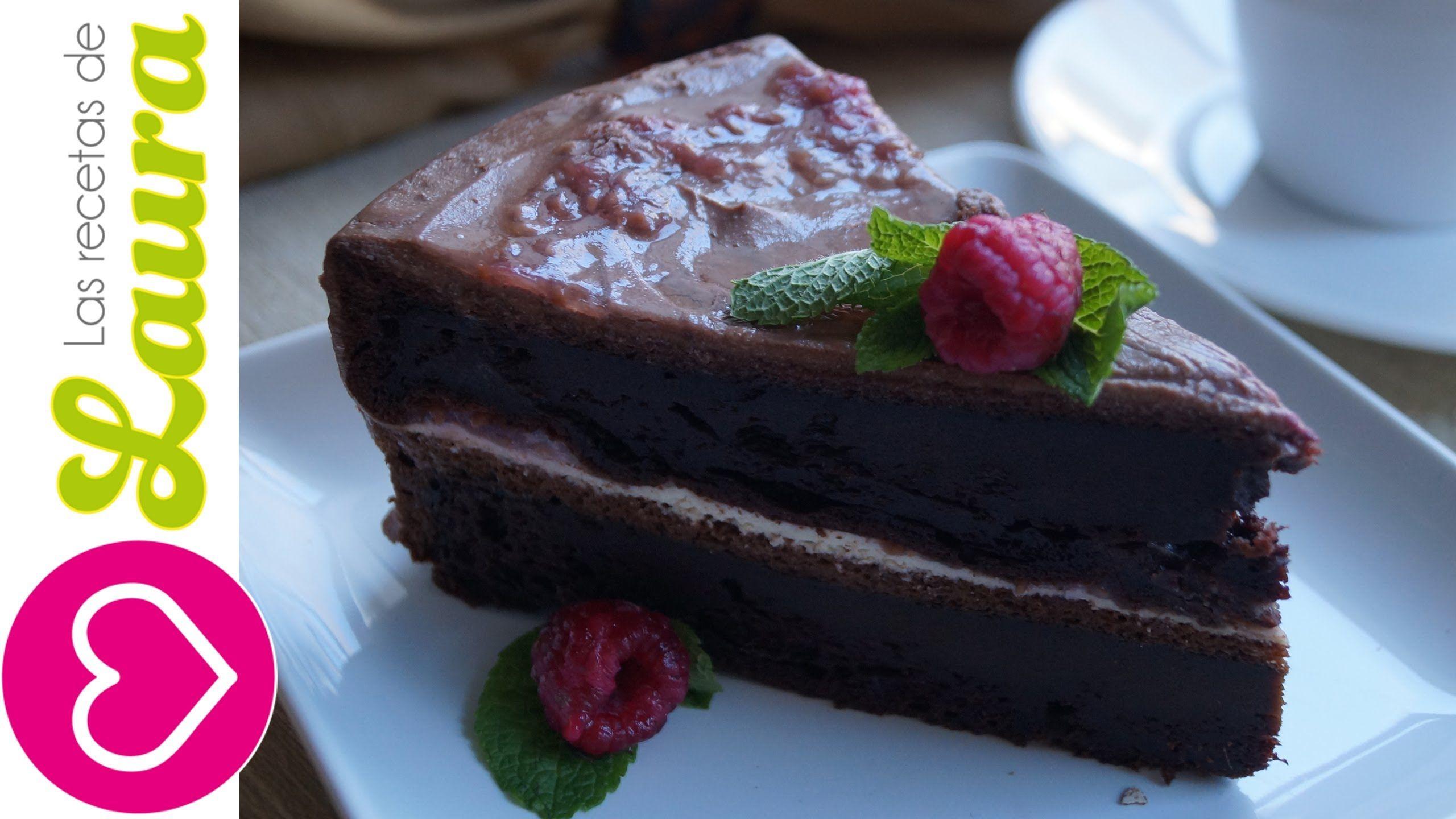 Receta F Cil De Pastel De Chocolate Postres Saludables Recetas  ~ Recetas Faciles Para Cenar  Ninos