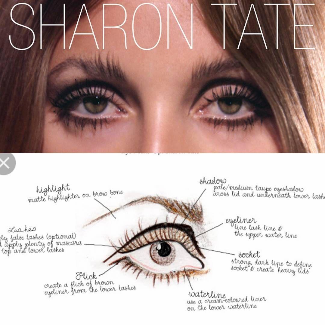 Seems Like A Popular Way To Do Eye Makeup 70s Makeup Retro Makeup 60s Makeup