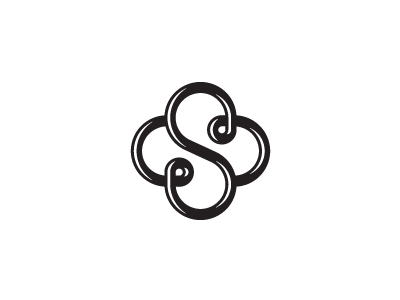 S Knot Cross Monogram Logo Design S Logo Design Hotel Logo Design