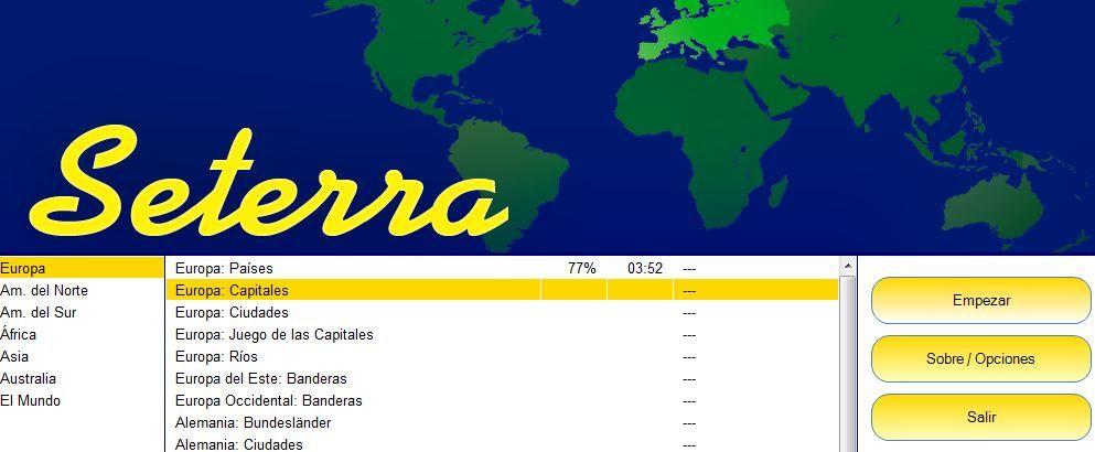 Juego de mapas y capitales del mundo  Educacin  Pinterest