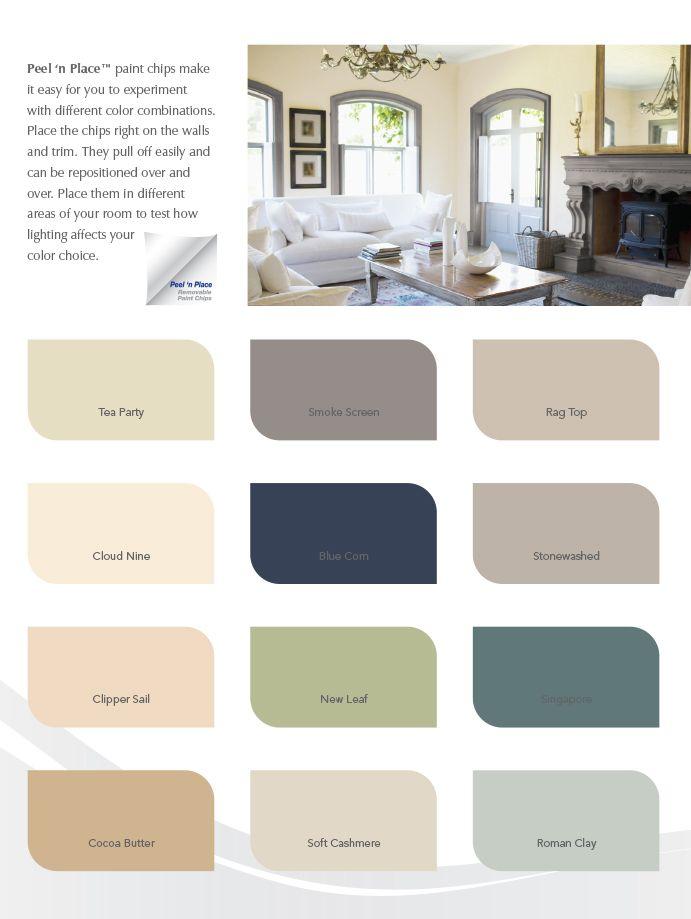 True Value Paint Lifestyle Card Interior Color