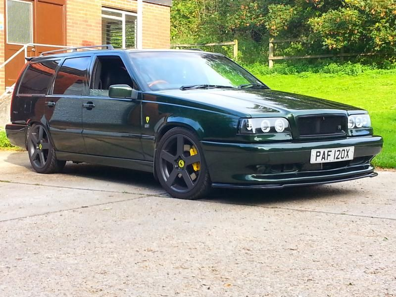 Oblark S Garage Green Hornet Best Of Volvo 850 T5 R T5r Custom Pinterest Green