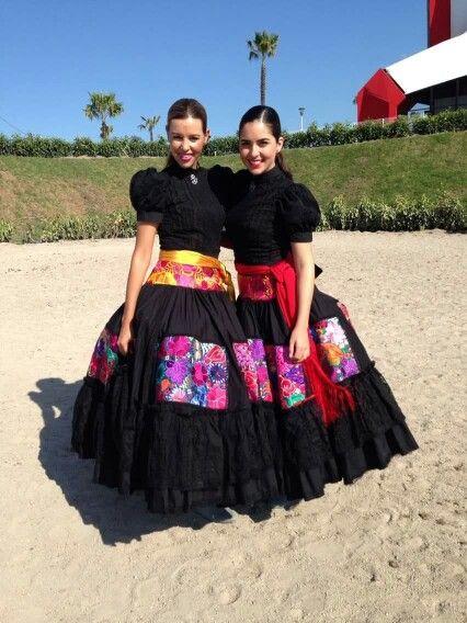 Escaramuza Vestidos De Noche Mexicanos Vestidos