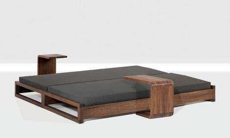 Small Space Utilization. Zeitraum Unveils New Guest Bed ...