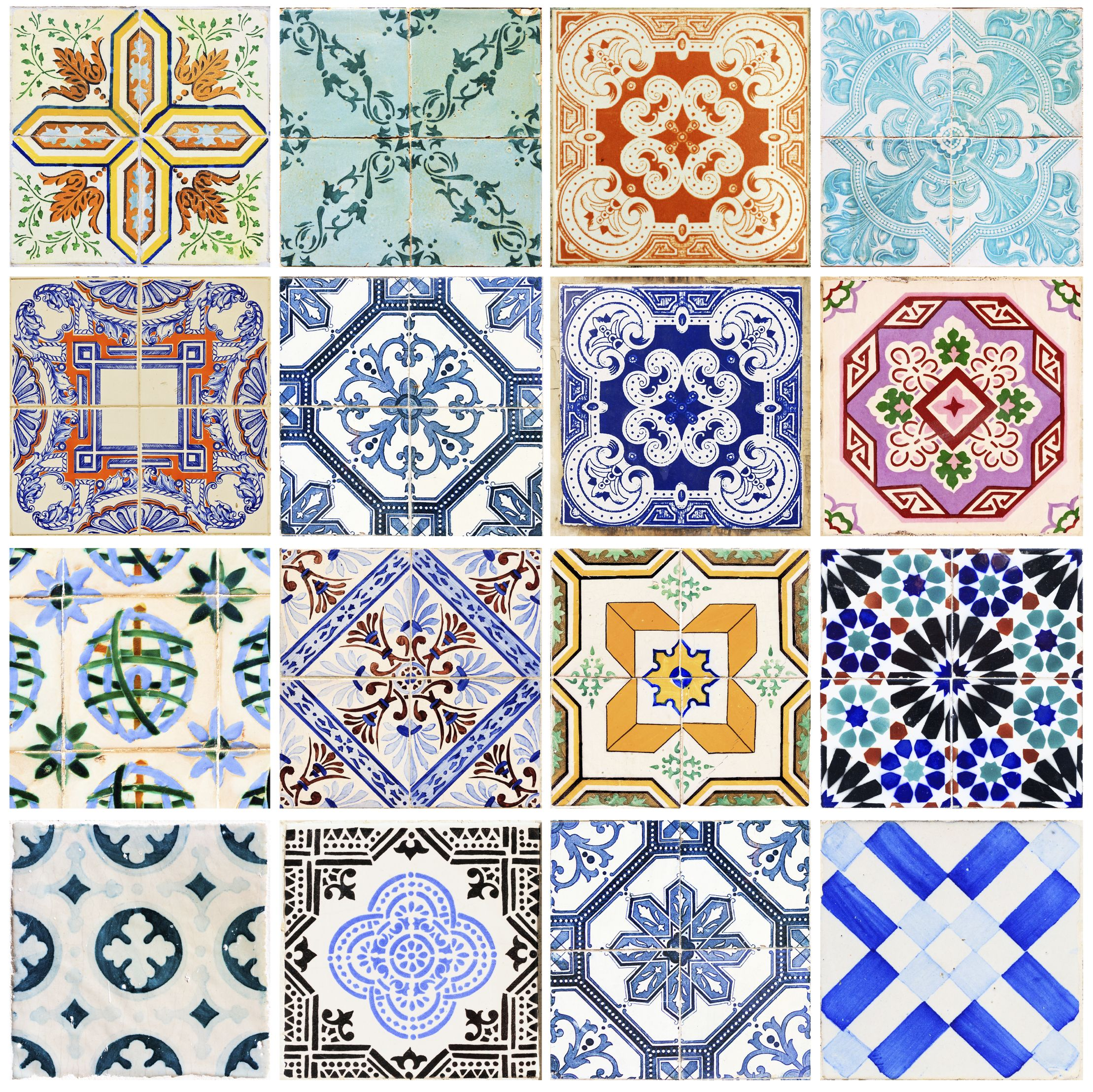 Keptalalat A Kovetkezore Turkish Hammam Pattern Sticker Decor Tile Decals Spanish Tile