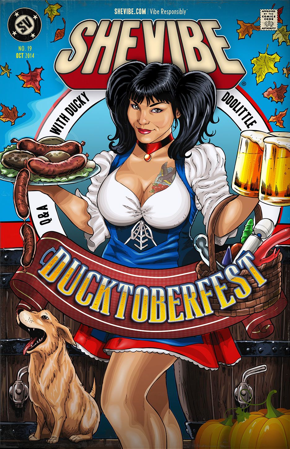 Is that a Bratwurst In Your Pocket Or Is It Ducktoberfest? SheVibe Presents Ducky DooLittle! #duckydoolittle #ducktoberfest #octoberfest