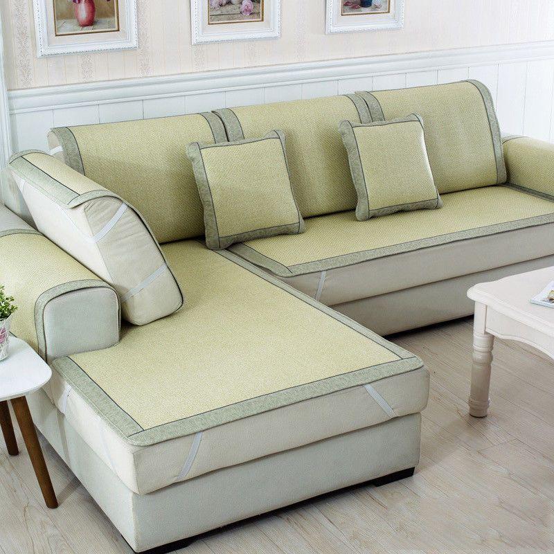 Fabulous Summer Cool Bamboo Couch Sofa Cover Mat Cushion Ice Silk Pad Uwap Interior Chair Design Uwaporg