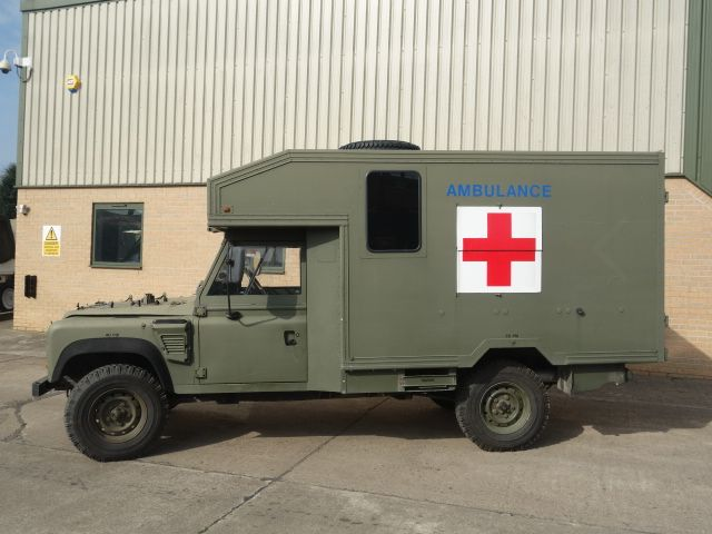 land rover 130 defender wolf rhd ambulance ex mod direct sales rh pinterest com
