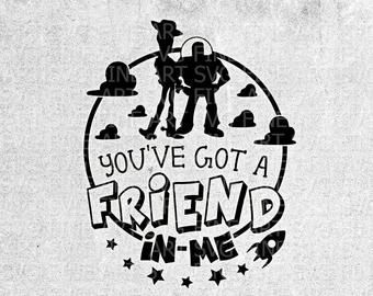 Download Youve got a friend in me svg | Etsy in 2020 | Friends, Svg ...