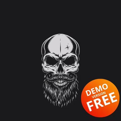 Skull Creator | Vector custom design of the skull | Try DEMO for