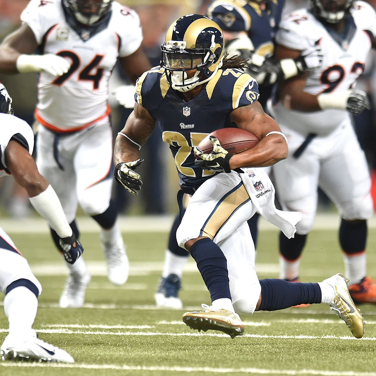 After Adding Todd Gurley Here S How Rams Rbs Could Look In 2015 Todd Gurley St Louis Rams Sports Pictures