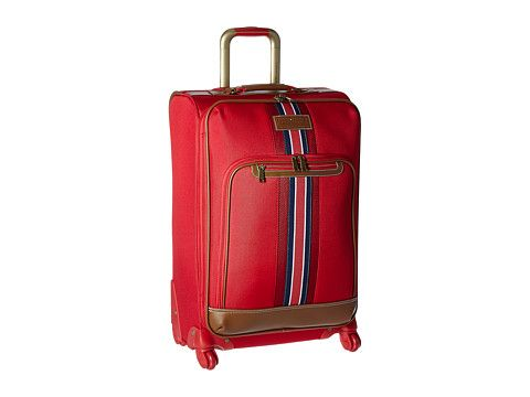 "TOMMY HILFIGER Nantucket 25"" Upright Suitcase. #tommyhilfiger #bags #travel bags #canvas #polyester #suitcase #"