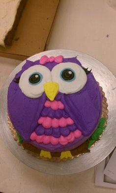 Owl cake Owls Pinterest Owl Cakes Owl and Cakes Kayltns