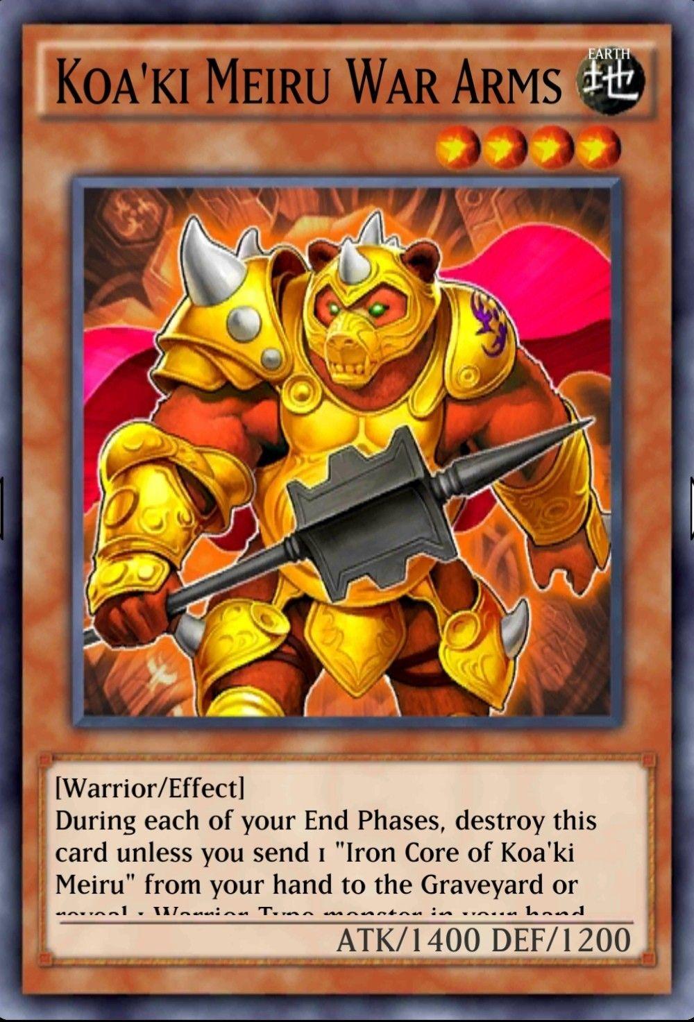 Koaki meiru war arms in 2020 yugioh war warrior