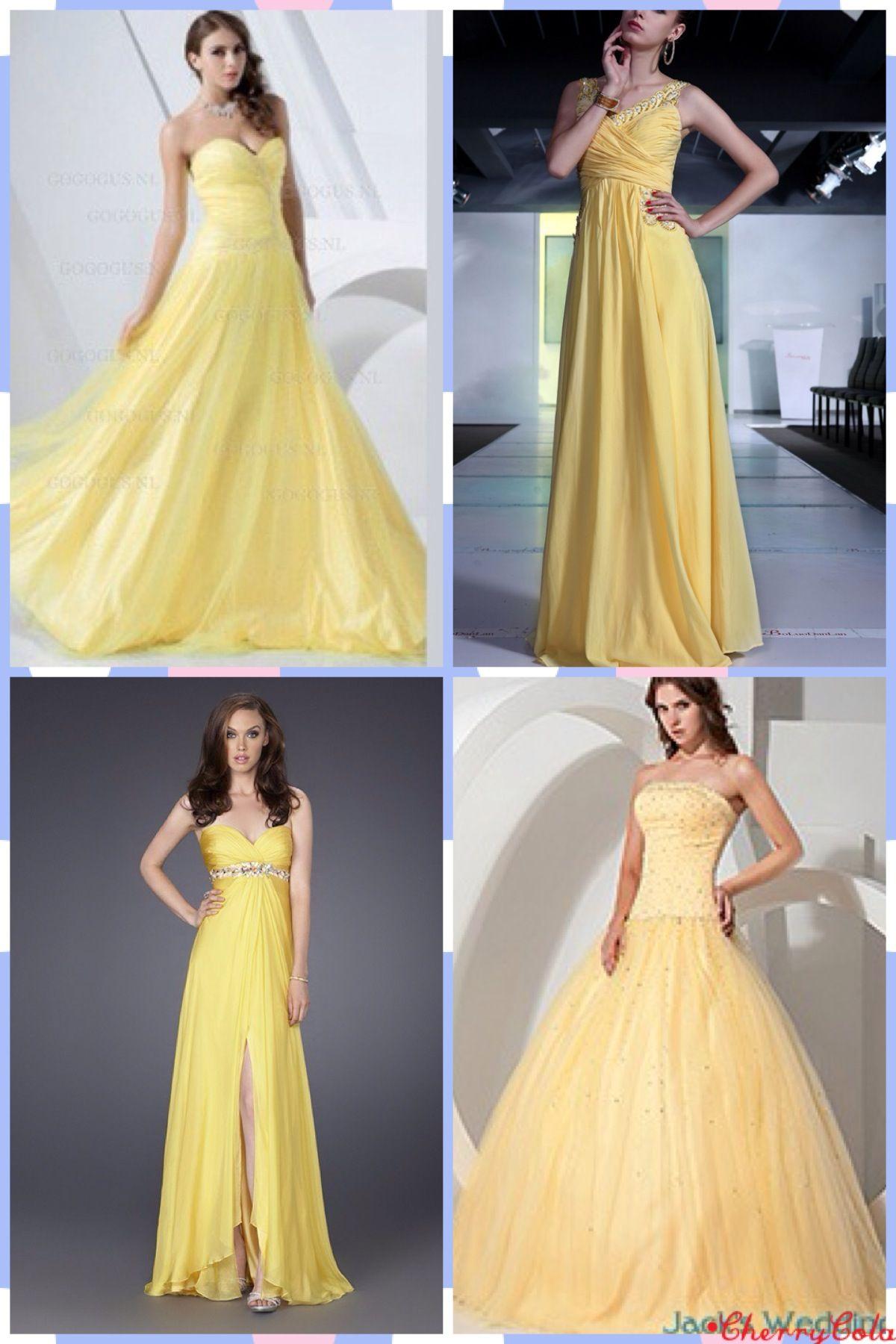 Pretty pastel yellow wedding dresses fashion and beauty