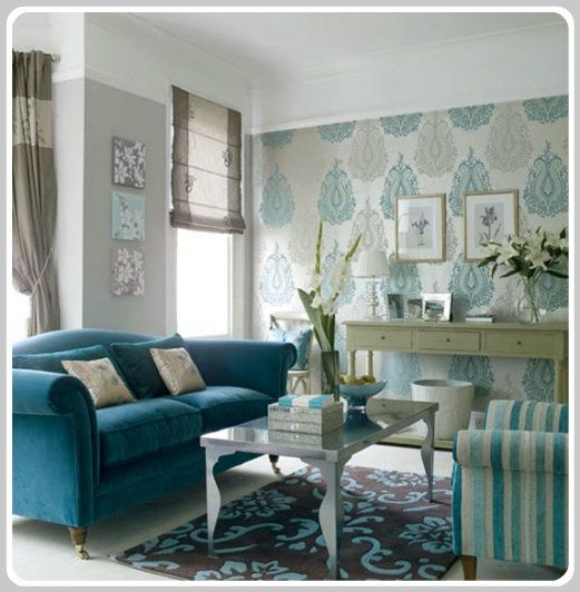 Blue Monochromatic Color Scheme color psychology: decorating with blue | monochromatic color
