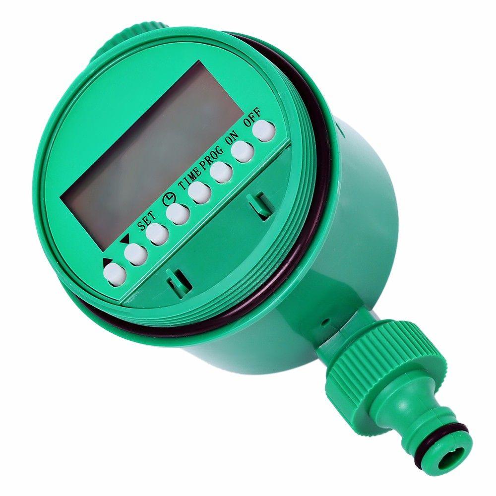 Water Timer Solenoid Valve Set Home Garden Irrigation Controller System Watering