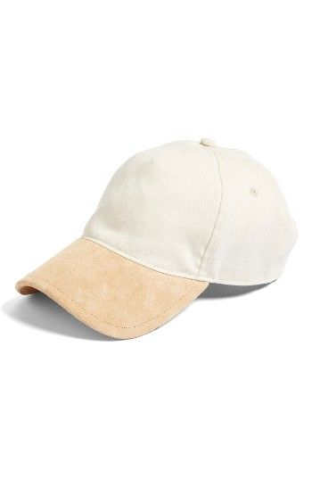 c6a08c147e1 Baseball Hat · Scarfs · Free shipping and returns on rag  amp  bone   Marilyn  Suede Brim Baseball Cap