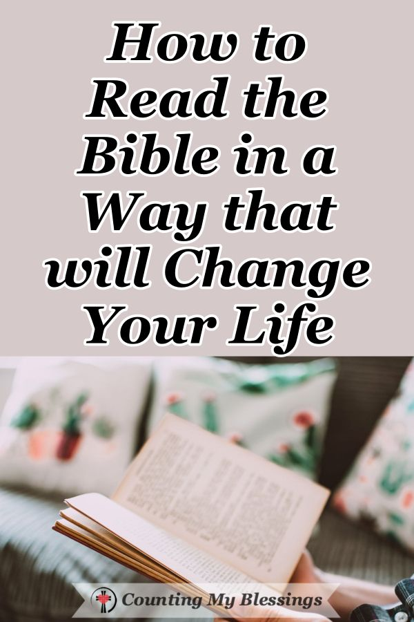 How to Read the Bible in a Ways that will Change Your Life