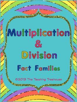 multiplication division fact families worksheet. Black Bedroom Furniture Sets. Home Design Ideas