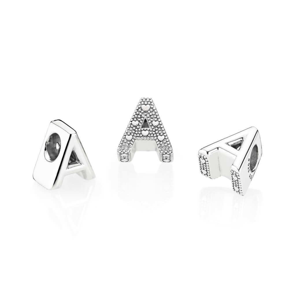 49+ Letter charm necklace pandora ideas in 2021