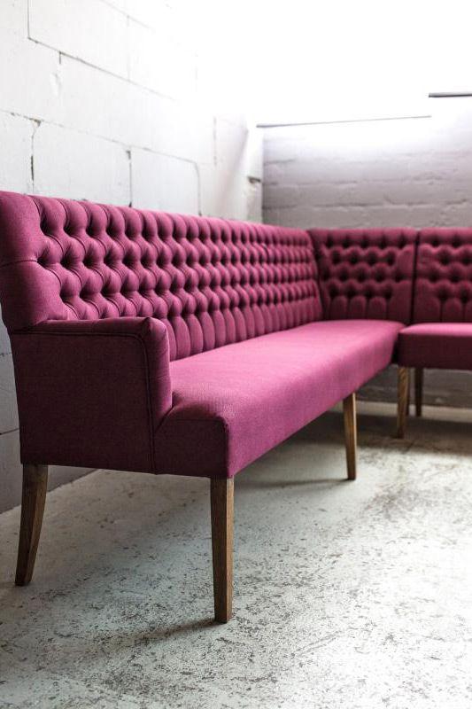 Die Eckbank Bretagne Von Möbel U0026 Konsorten Vereint Durch Die Aufwendige  Chesterfield Steppung Moderne Und