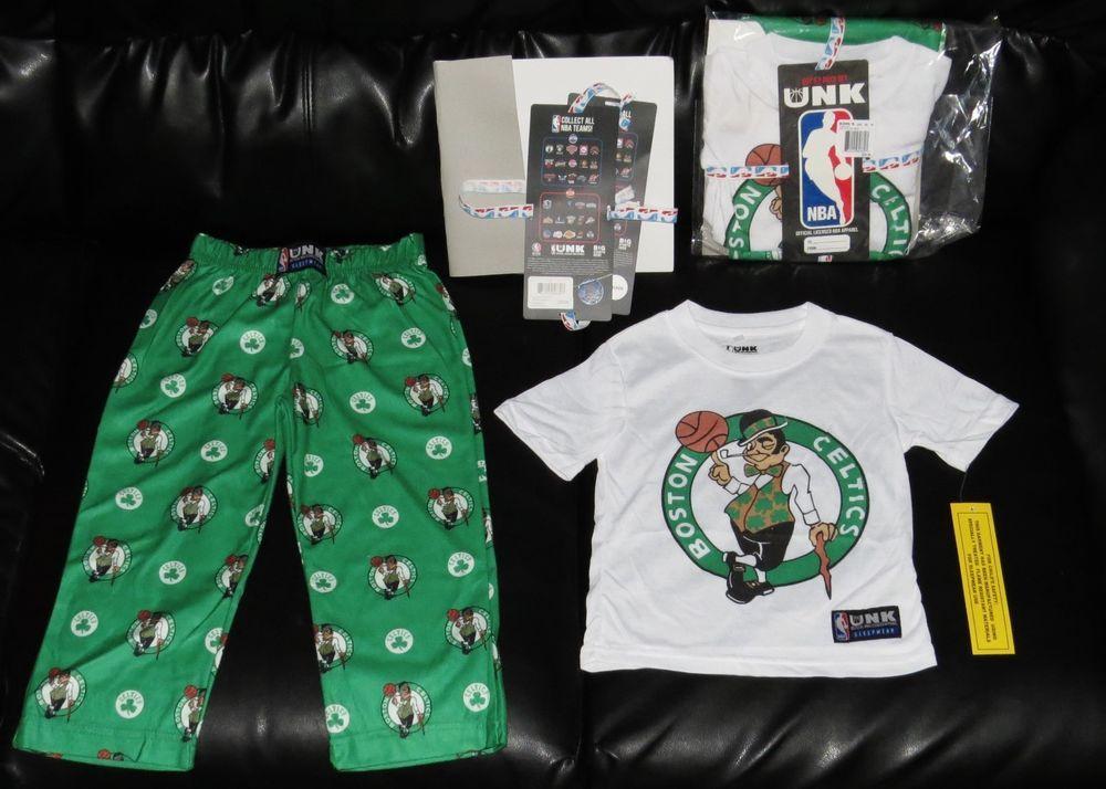 NBA Sleepwear Pajama Loungewear Boys L 14-16 S 8 Basketball Official UNK NWT